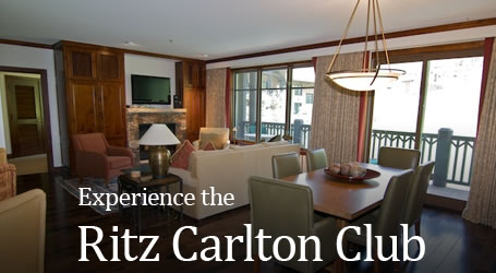 Experience the Ritz Carlton Club