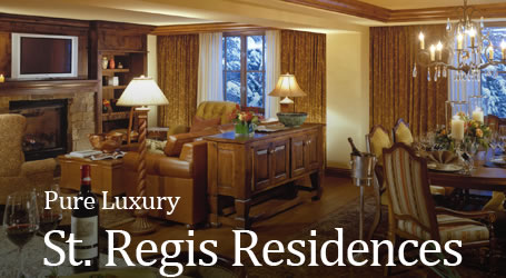 Pure Luxury - St. Regis Residences